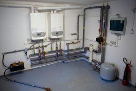 Plynová kondenzační kotelna